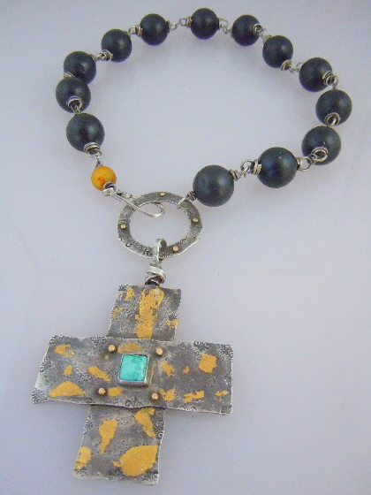 Harmony cross Necklace
