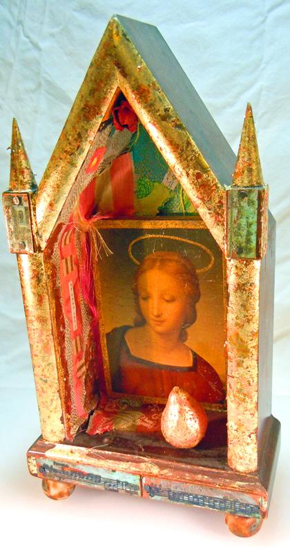 Virgin altar
