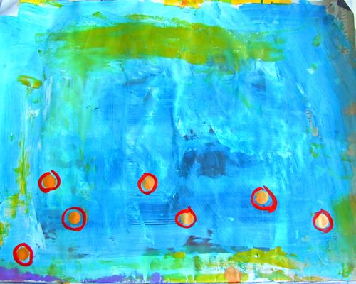 Parasol paint pallet