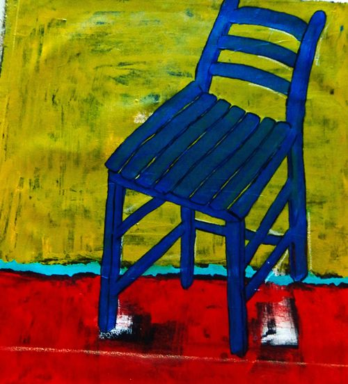 Blue Chair 640